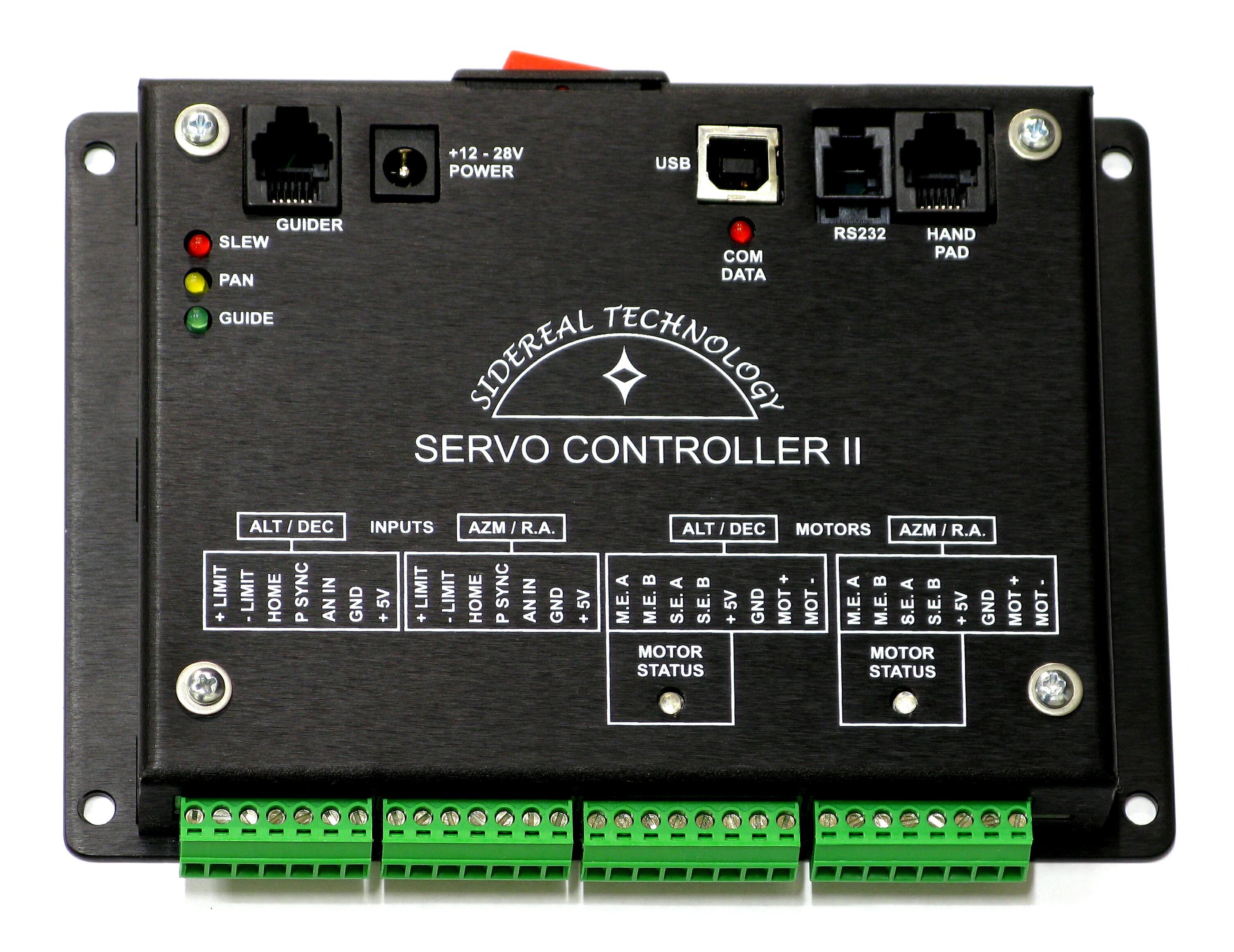 Servo controller for Dc motor servo controller